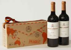 Rødvin 2 Marqués de Murrieta  en caja de cartón
