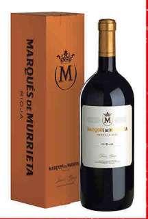 Rødvin Marqués de Murrieta  en caja de cartón (Magnum)