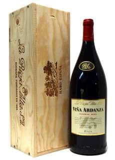 Rødvin Viña Ardanza  en caja de madera (Magnum)